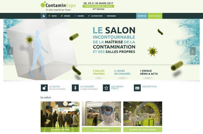 contaminexpo 2017 - salle propre purple